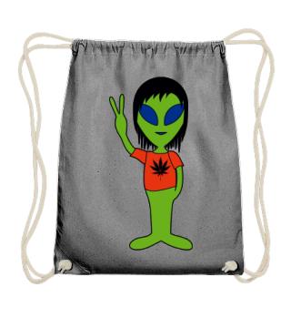 Peace Alien - Marijuana Friend
