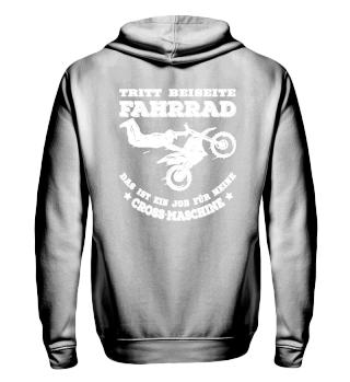 Motocross - Tritt beiseite Fahrrad