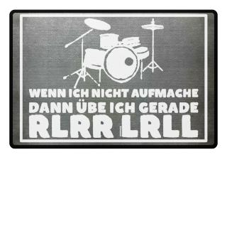 Schlagzeuger Fußmatte - RLRR LRLL