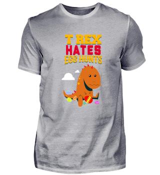Funny Dinosaur Hates Easter Eggs Gift