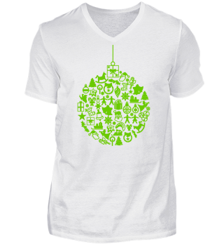 ★ Icons Christmas Tree Ball - green