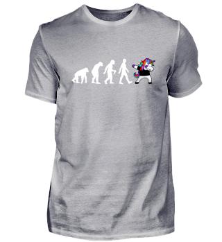 Evolution Of Humans - Dabbing Unicorn 2
