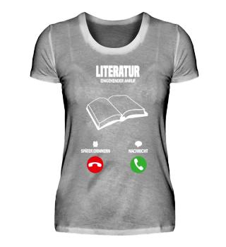 Mein Literatur ruft! Lesen Geschenk
