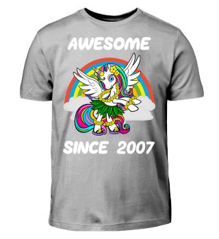 Einhorn Geschenk Shirt 11. Geburtstag