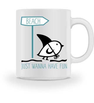 Tweetlercools - Beach HAVE FUN - black