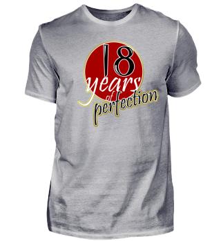 18 Years - 18th Birthday Gift Shirt