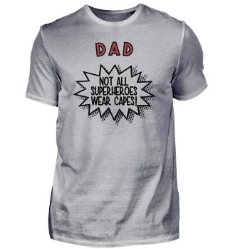 Superhero Capes Best Dad Ever