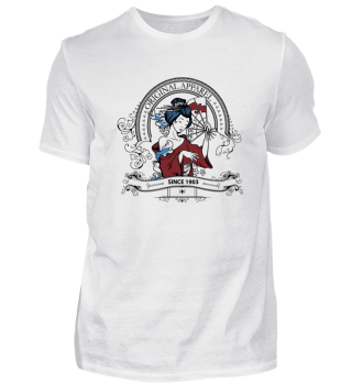 Original Apparel Design Geisha China Art