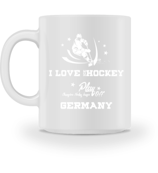 ♥ I LOVE ICE HOCKEY #2WT