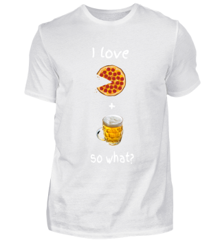 I love pizza + beer, so what?