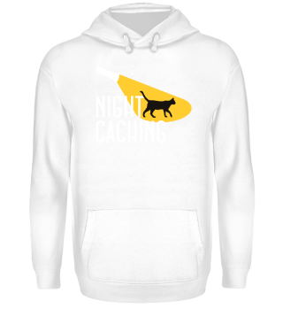 ★ Nightcaching - Flashlight Cat 2 HOODIE