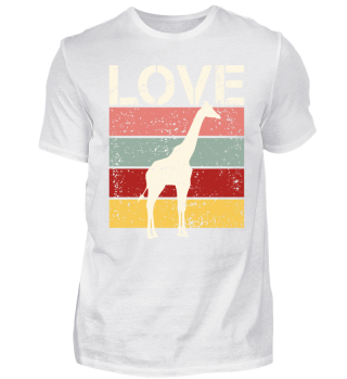 Stripes - LOVE - Giraffe - cream