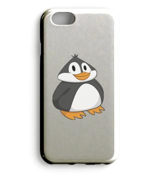 Fetter Pinguin Handyhülle
