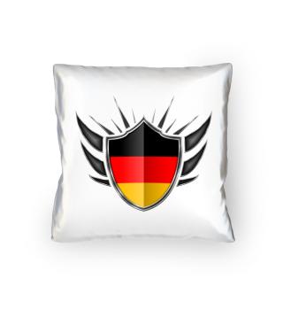 Deutschland-Germany Wappen Flagge 013