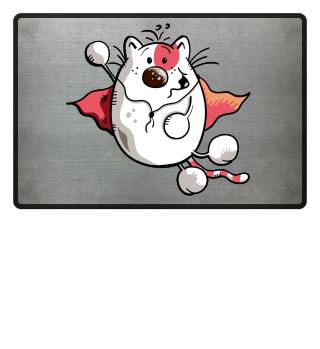Flying Super Cat I Hero Cartoon Fun Cats