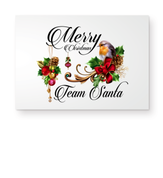 ☛ MERRY CHRISTMAS · TEAM SANTA #1SF