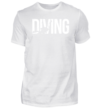 Diving Diver Shirt Scuba Dive