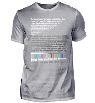 Testdruckshirt