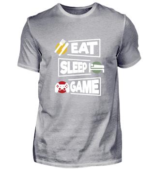 Eat Sleep Game Funny Gamer Gift