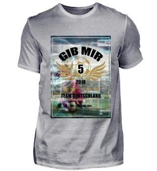 FUSSBALL SHIRT · GIB MIR FÜNF #5.2
