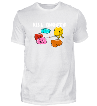 Kill Ghosts Samurai Sword Comic T-Shirt