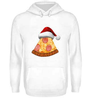 Pizza Shirt Santa Claus Christmas Gift