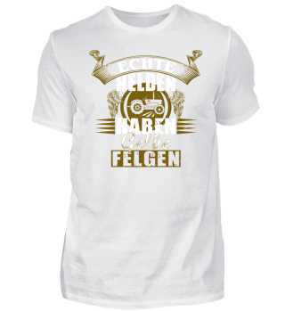 Echte Helden - Gelbe Felgen - Tshirt