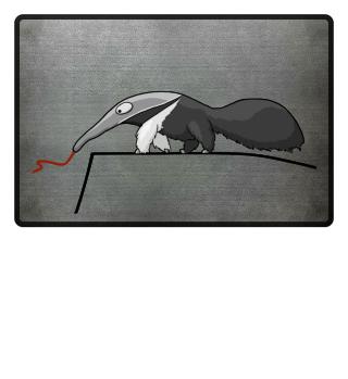 Ameisenbär Fussmatte