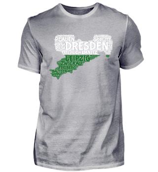 Sachsen-Shirt | WordCloud