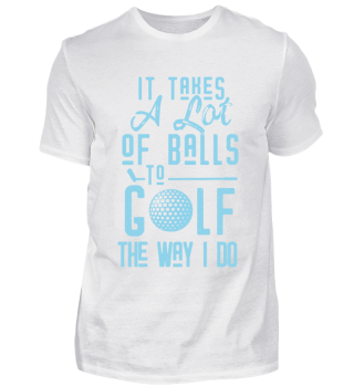 Golfer Golf Player Coach Ball Fun Cool Quote Gift