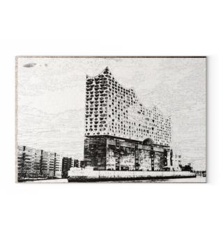 Canva drawing: Hamburg