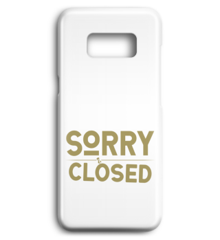 ☛ SORRY · CLOSED #2GH