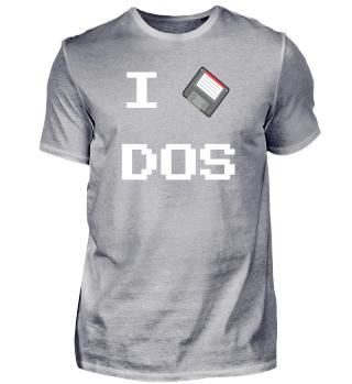 I love DOS - Disc
