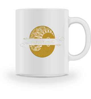 ♥ YIN YANG Mandala - Just Breath I MUG