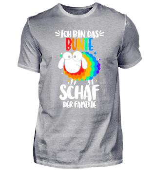 Bunte Schaf der Familie - Regenbogen gay