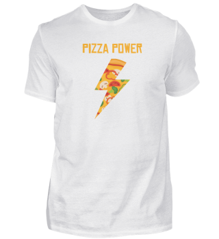 Pizza Power Gift Funny Food Fastfood Fun