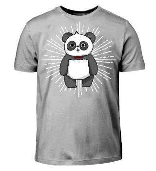 Panda Fussball dab shirt geschenk