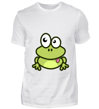Frog - Frosch Comic Fun lustig Shirt