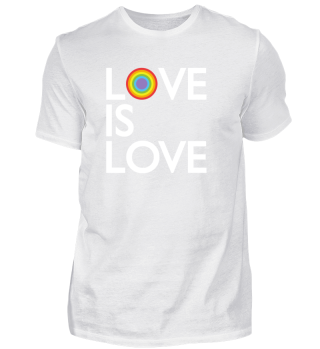 LGBT Shirt - Love is love