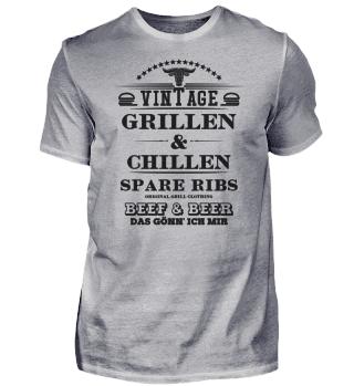 ☛ Grillen & Chillen - Spare Ribs #1S