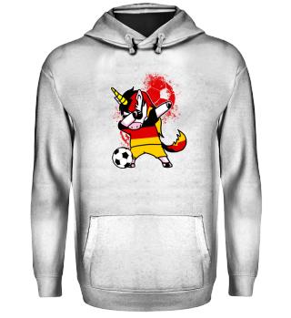 Deutschland Fußball Einhorn Dab