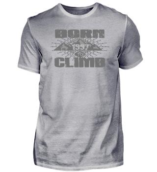 BORN TO CLIMB CLIMBING klettern love 1997