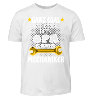 Kinder Shirt - Mein Opa ist Mechaniker