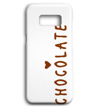 Handyhülle eat more Chocolate Phone Case