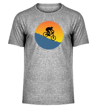 Mountainbike Downhill T-Shirt Washed Out