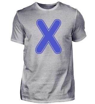 Alphabet - Letter - X