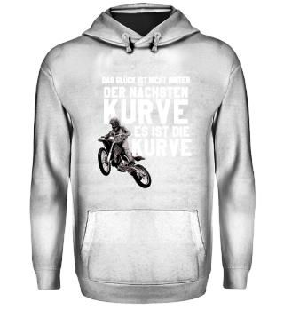 Motocross Glück ist die Kurve