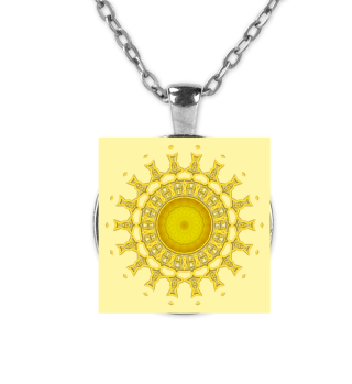 Sonnen-Mandala Kette
