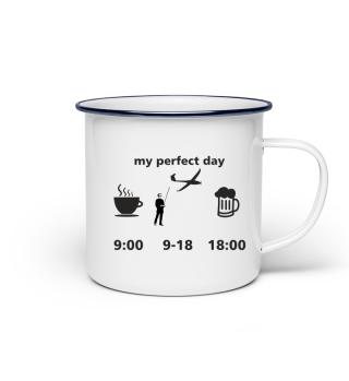 Modellflieger Tasse Geschenk