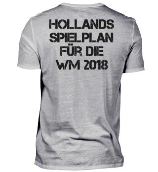 Hollands Spielplan für die WM 2018